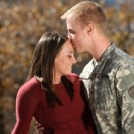 Young-military-couple